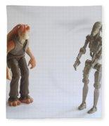Star Wars Action Figure Fleece Blanket