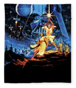 Star Wars Episode Iv - A New Hope 1977 Fleece Blanket