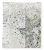 Stone Tiles Fleece Blanket