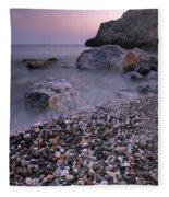 Stones Fleece Blanket