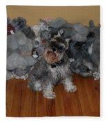 Stuffed Animals Fleece Blanket