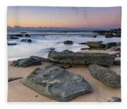Sunrise And The Sea Fleece Blanket