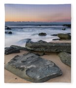 Sunrise And The Sea Fleece Blanket