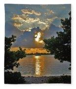 3- Sunrise Cruise Fleece Blanket