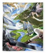 Sword Art Online Fleece Blanket