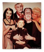 The Munsters Fleece Blanket