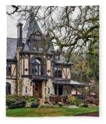 The Rhine House Fleece Blanket