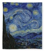 The Starry Night Fleece Blanket