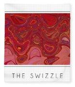 The Swizzle Fleece Blanket