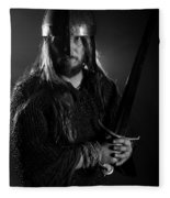 The Warrior  Fleece Blanket