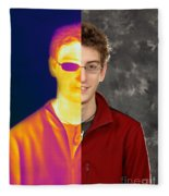 Thermography Fleece Blanket