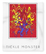 Tickle Monster Fleece Blanket