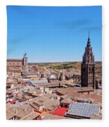 Toledo, Spain Fleece Blanket