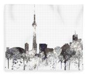 Toronto Ont.skyline Fleece Blanket