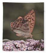 Tramonti Butterfly Fleece Blanket