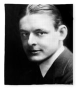 T.s. Eliot (1888-1965) Fleece Blanket