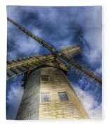 Upminster Windmill Essex Fleece Blanket