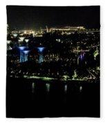 View From Flyer Fleece Blanket