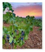 Vineyards Fleece Blanket