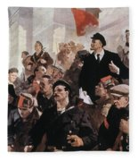 Vladimir Lenin (1870-1924) Fleece Blanket