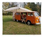 Volkswagen Bus T2 Westfalia Fleece Blanket