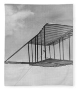 Wright Brothers Glider Fleece Blanket