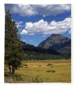Yellowstone Vista Fleece Blanket