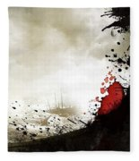 300 Rise Of An Empire 2014 Fleece Blanket