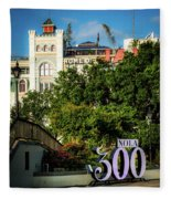 300 Years Of New Orleans Fleece Blanket