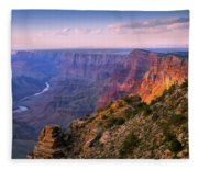 Canyon Glow Fleece Blanket