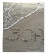 30a Beach Fleece Blanket