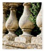 Stone Wall Fleece Blanket