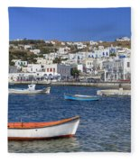 Mykonos Fleece Blanket