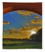 33- Window To Paradise Fleece Blanket