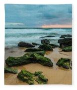 Dawn Seascape Fleece Blanket