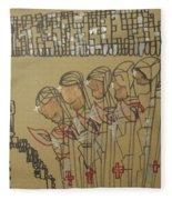 Five Wise Virgins Fleece Blanket