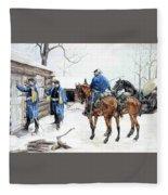 35424 Frederick Remington Fleece Blanket