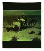 35427 Frederick Remington Fleece Blanket