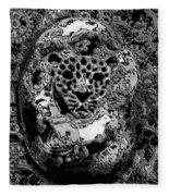 Abstract Orgone Fleece Blanket