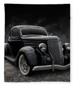 36 Ford Five Window Fleece Blanket