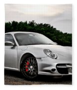 360 Forged Porsche 997tt 2 Fleece Blanket