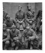 369th Infantry Regiment Fleece Blanket