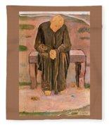 37560 Ferdinand Hodler Fleece Blanket