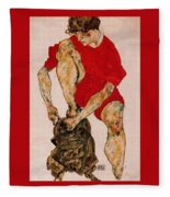 37986 Egon Schiele Fleece Blanket