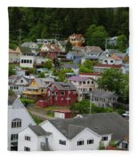 Alaska_00039 Fleece Blanket