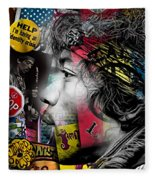Jimi Hendrix Collection Fleece Blanket