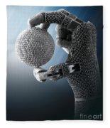 3d Printing Additive Robotic Hand Fleece Blanket