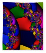 3x1 Abstract 909 Fleece Blanket