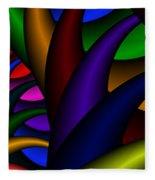3x1 Abstract 915 Fleece Blanket
