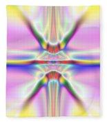 3x1 Abstract 917 Fleece Blanket